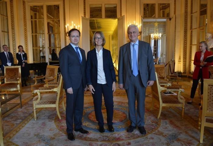 Владимир Мединский встретился с Министром культуры Франции
