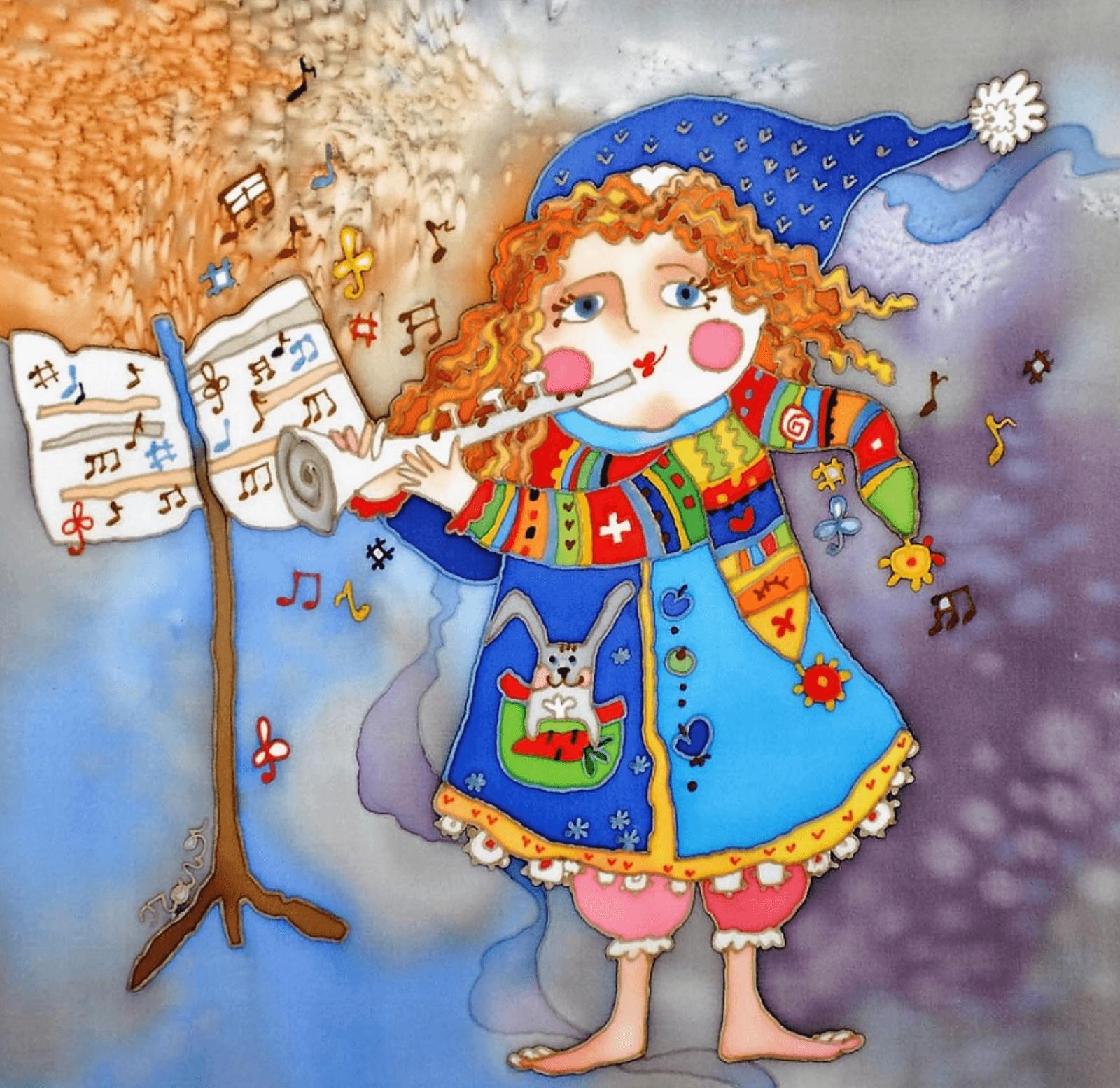 Международный конкурс детского рисунка «Дети рисуют музыку» в Берне