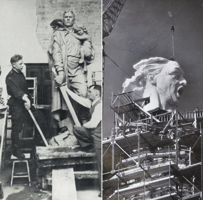 Выставка, посвященная памятникам советским воинам открылась в Берлине