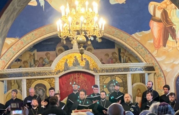 Хор духовенства Санкт-Петербургской митрополии выступил в Белоруссии в рамках Дней духовной культуры России