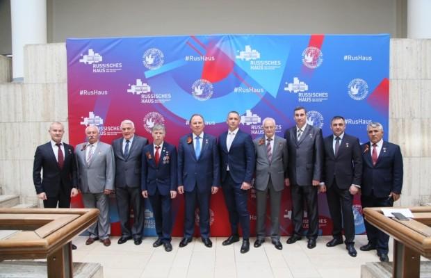 В Берлине прошла пресс-конференция Героев России и Советского Союза членов Организации «Офицеры России»