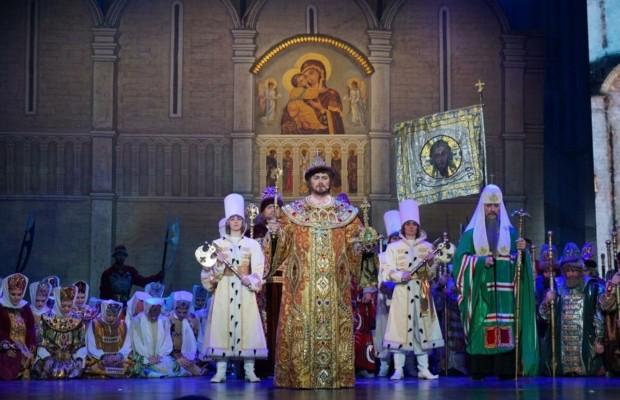 В Ярославле прошла церемония открытия Года театра в России