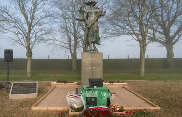 День Неизвестного солдата в Noyers-Saint-Martin