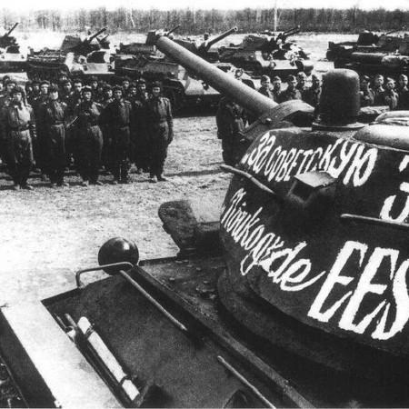 Москва отметила 75-ю годовщину освобождения Таллина от фашистов