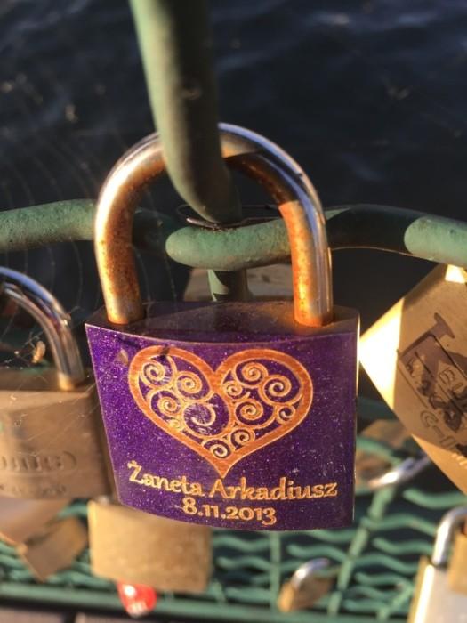 Мост «Всех влюблённых» в Цюрихе
