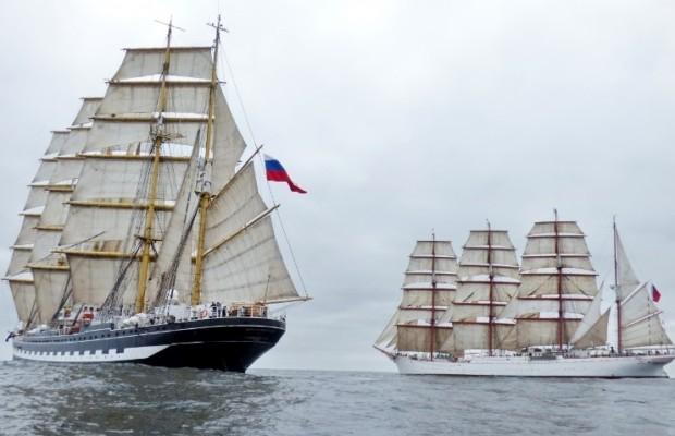 «Паруса мира». Российские парусники устремятся к Антарктиде