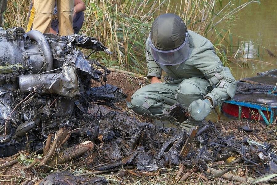 В Смоленской области завершен подъем истребителя авиаполка «Нормандия-Неман»
