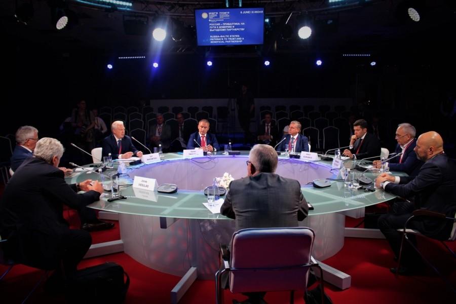 В рамках ПМЭФ-2019 прошла сессия «Россия-Прибалтика: на пути к доверию и выгодному партнерству»