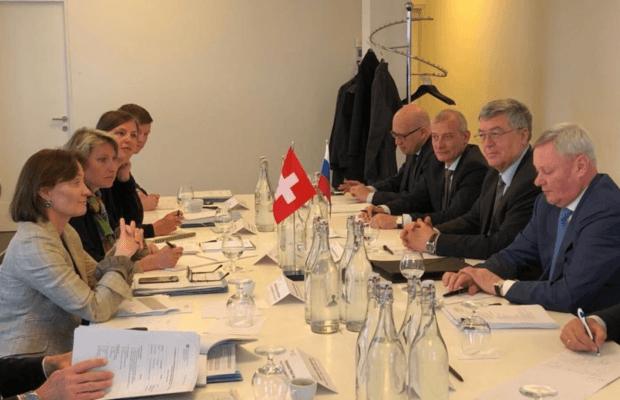 В Базеле состоялся раунд политических консультаций в формате координаторов российско-швейцарского сотрудничества