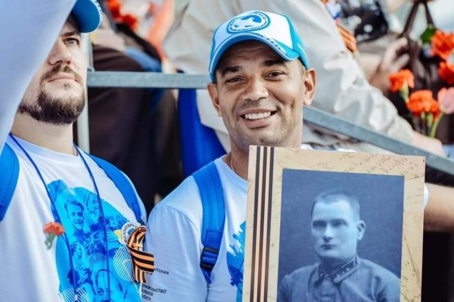 Дюк Мишель Нгебана о дедушке-ветеране, Бессмертном Полке в Конго и почетной миссии Посла Победы!