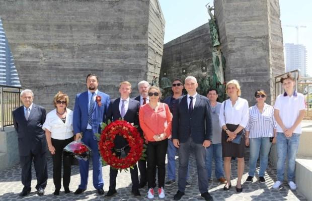 Москва приняла участие в торжественных мероприятиях ко Дню Победы в Израиле