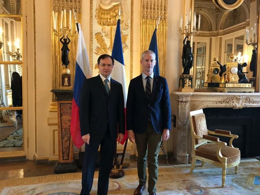 Встреча министров культуры России и Франции состоялась в Париже