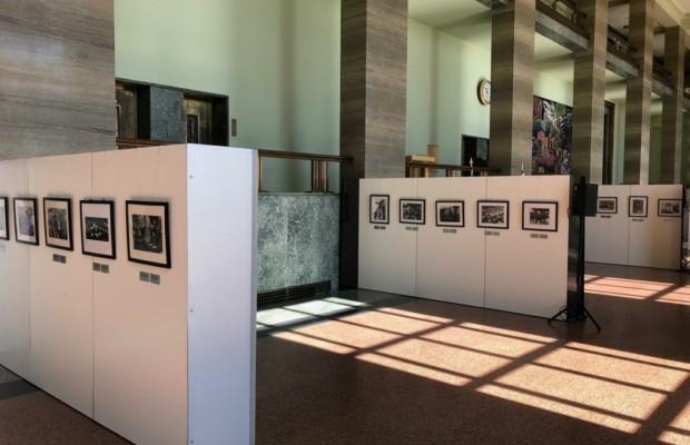 Выставка работ фотографа ТАСС Евгения Халдея