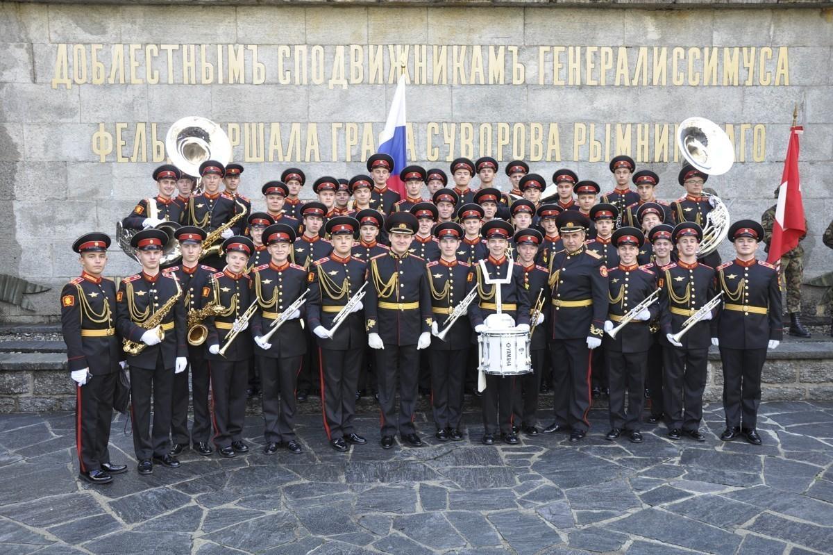 Оркестр Московского суворовского военно-музыкального училища выступит в Лозанне