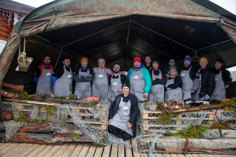 Повара «Гастрономической карты России» приготовили больше 10 000 порций блюд на V Арктическом фестивале «Териберка»
