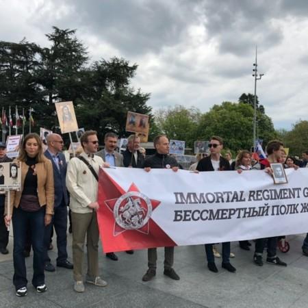 4 мая акция «Бессмертный полк» состоялась в Женеве