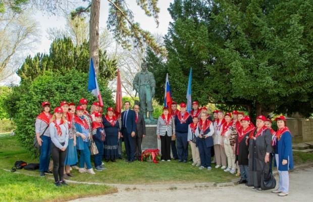 20-23 апреля прошел французский этап историко-мемориальной поездки «Дороги памяти - Дороги мира»