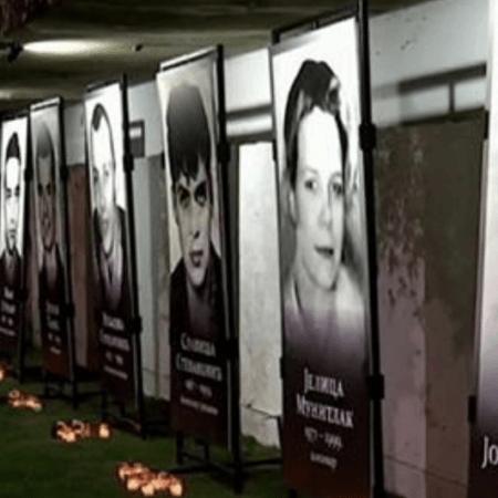 Годовщина авиаудара NATO по телецентру в Белграде и антинатовская акция журналистов