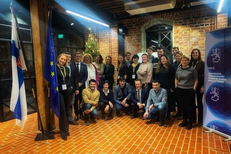 Семинар для российских журналистов в Хельсинки