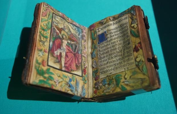 Владимир Мединский посетил открытие выставки «Библия Гутенберга: Начало нового времени» в РГБ