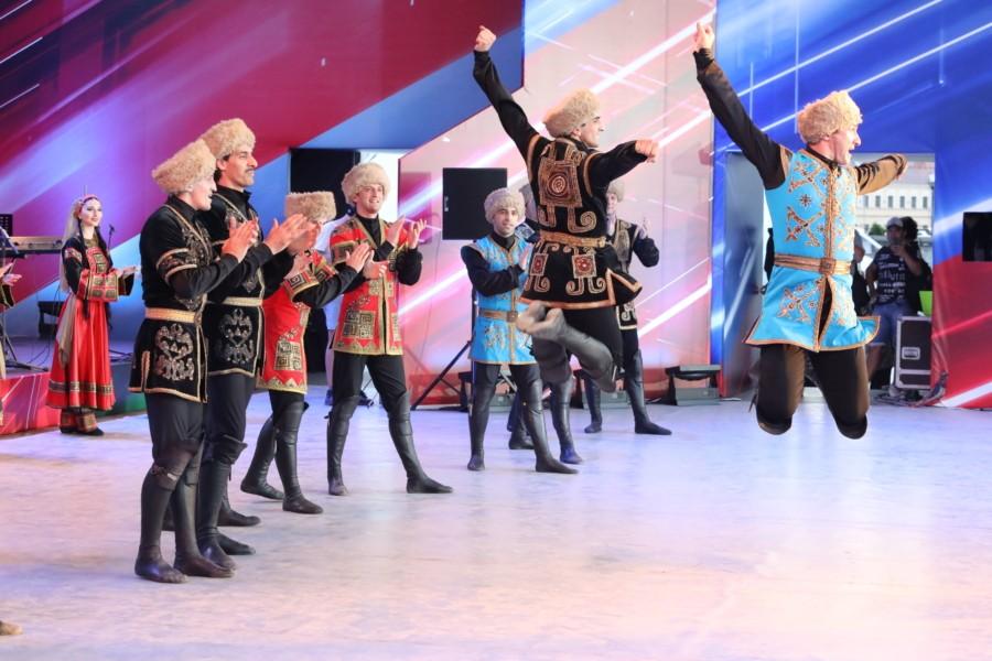 День многонациональной России отпраздновали в Минске в юбилейный год Союзного государства