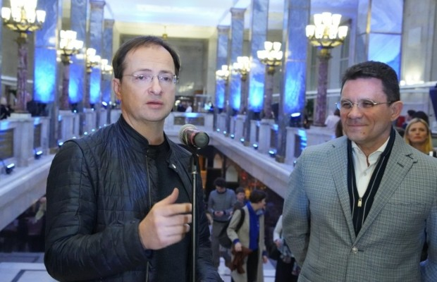 Владимир Мединский принял участие в открытии акции «Библионочь»