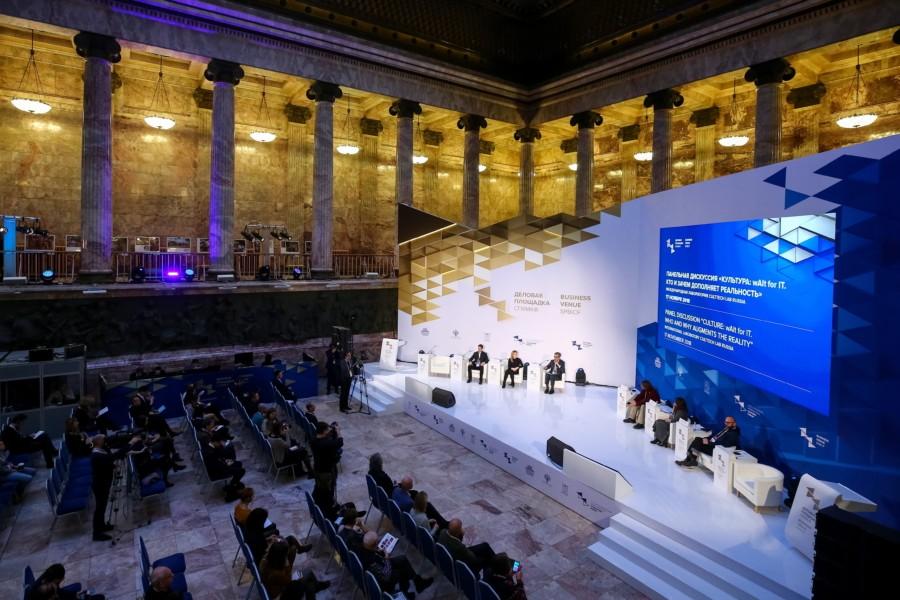 VIII Международный культурный форум пройдет в Петербурге с 14 по 16 ноября 2019 года