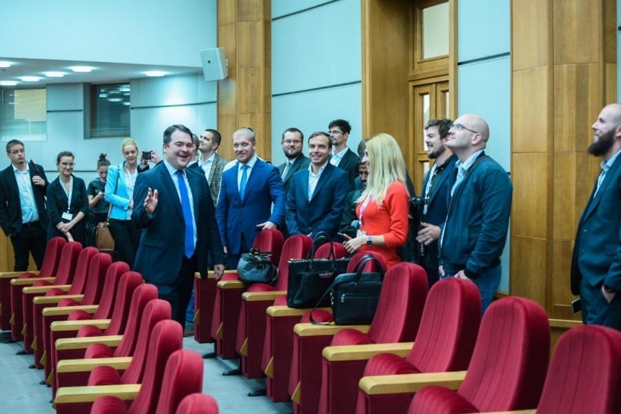 В МИД России прошла встреча с молодыми журналистами-участниками программы «Новое поколение»