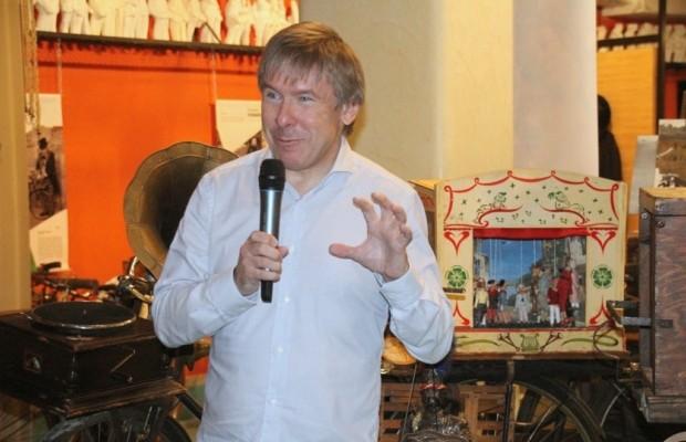 Выставка старинных велосипедов открылась в Москве