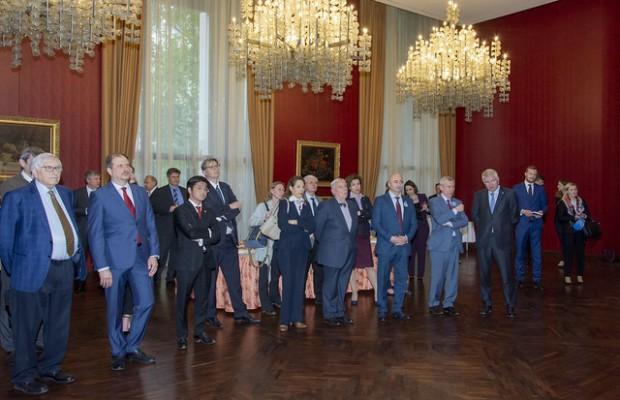 В Посольстве России во Франции состоялся прием в честь IV-го Фестивального Марафона «От Атлантики до Тихого океана»