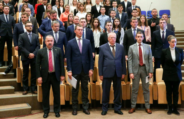В Государственной Думе открылся первый Международный конгресс молодежных парламентов