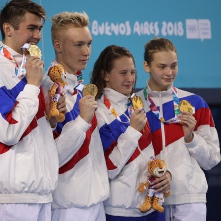 Российская сборная во второй соревновательный день юношеских Олимпийских игр завоевала семь медалей