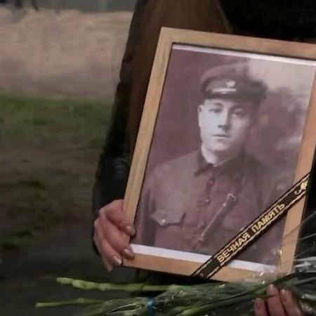 В Брянской области передали родным останки советского солдата, погибшего в 1941 году
