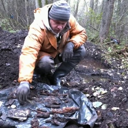 В Калининградской области поисковики за одно лето нашли девять самолетов времен Великой Отечественной