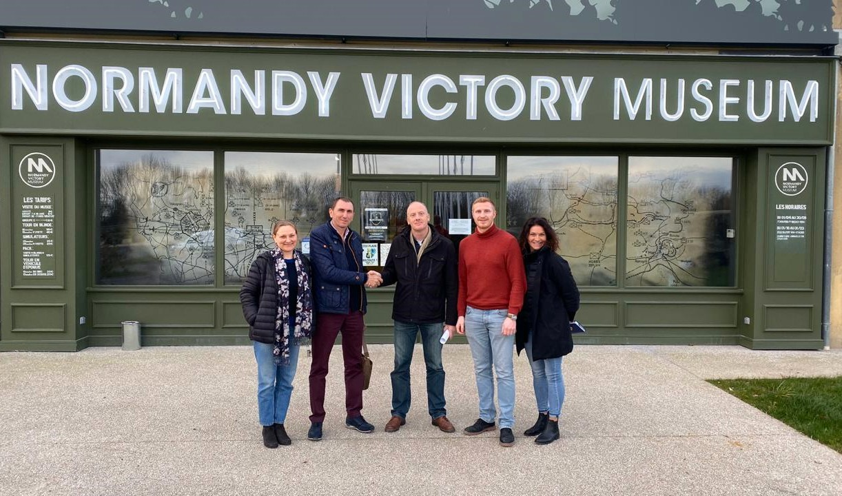 Впервые во французском музее «Норманди Виктори Мюзеум» представят постоянную выставку о Сталинградской битве.