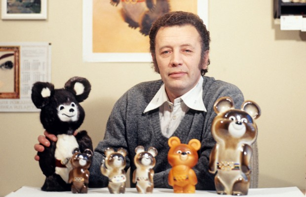 Не стало художника Виктора Чижикова - автора олимпийского мишки