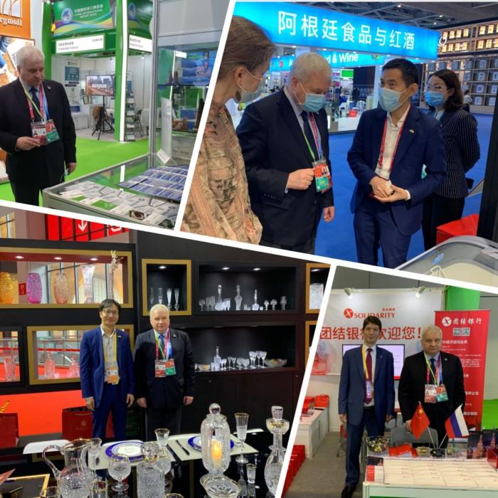 Посол России в Китае принял участие в открытии Международной выставки CIIE-2020