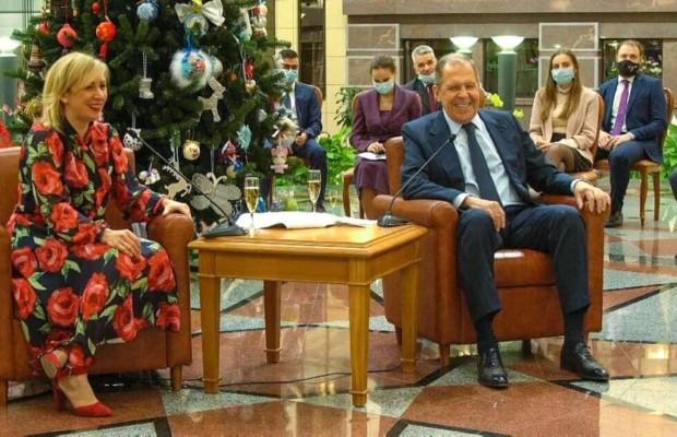 В МИД России прошёл традиционный новогодний приём для представителей российских и иностранных СМИ