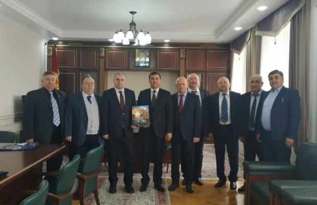 Балтийский государственный технический университет развивает контакты с вузами Киргизии