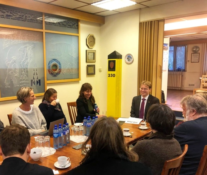 В Киркенесе прошёл семинар с журналистами в рамках курса «На границе с Россией»
