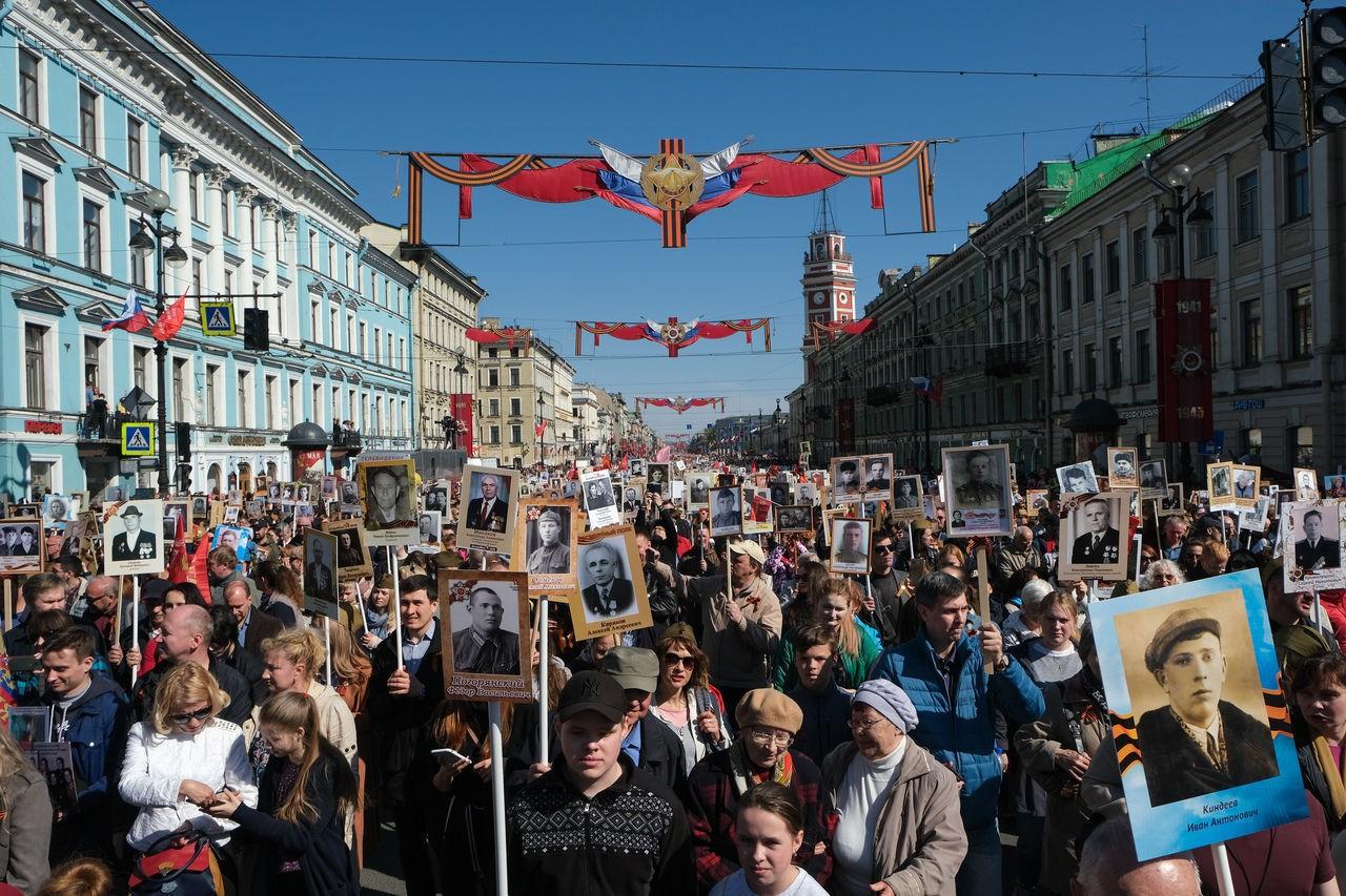 """Шествие """"Бессмертного полка"""" в России 26 июля отменили"""