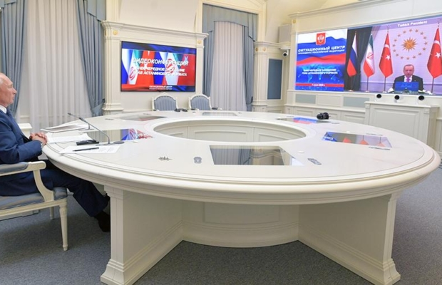 Президенты России, Турции и Ирана сделали совместное заявление по Сирии