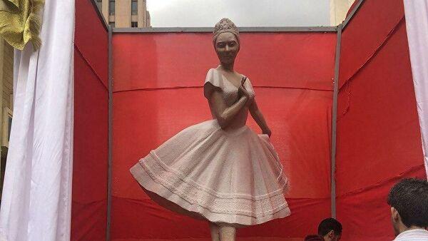 В Египте открыли памятник Анне Павловой
