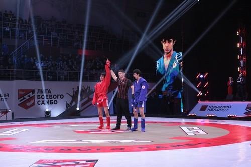 В Сочи прошел первый в истории чемпионат Лиги боевого самбо