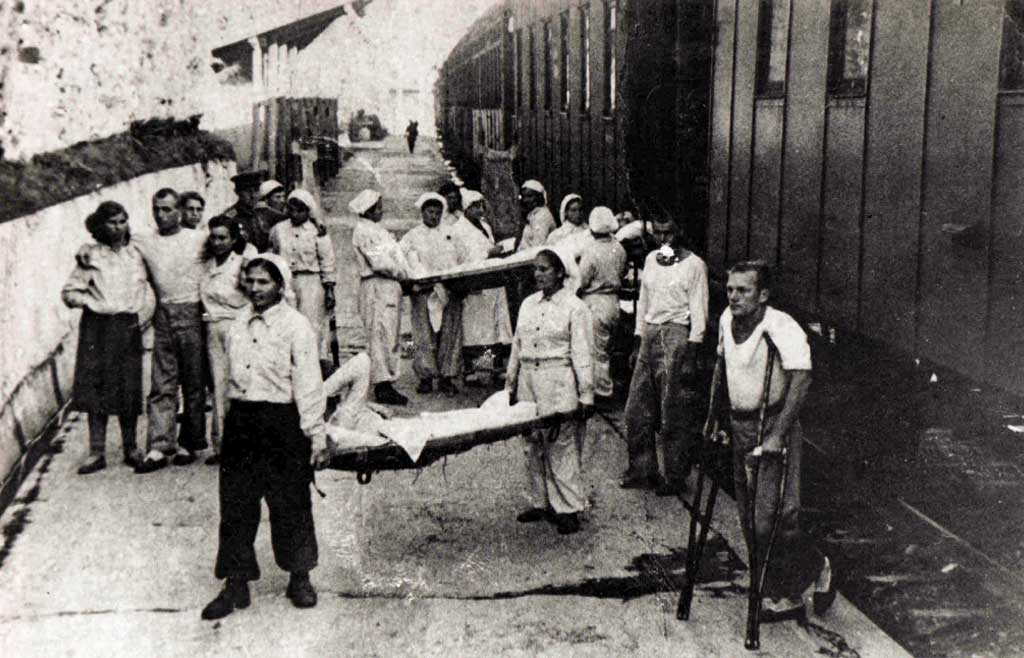 В Сочи проводят экскурсии по санаториям, которые в годы Великой Отечественной стали госпиталями