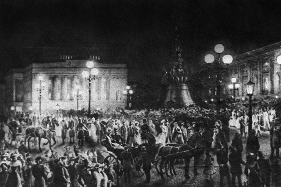 Этот день в истории: 1876 год — Яблочков запатентовал электрическую свечу