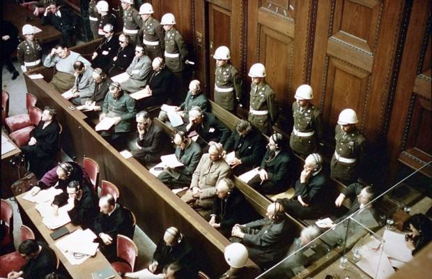 Росархив рассекретил документы из фонда Нюрнбергского Трибунала
