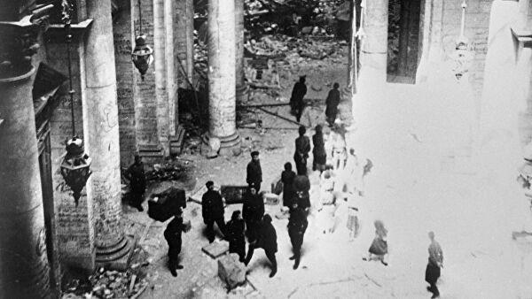 Красная армия в 1945 году накормила два миллиона берлинцев
