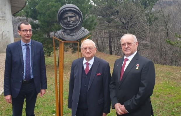 В хорватской Риеке открыли памятник Юрию Гагарину