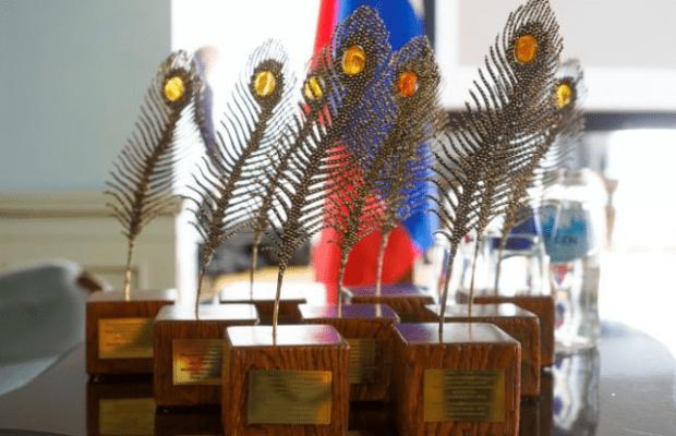 Победителям конкурса среди журналистов «Янтарное перо» вручили награды